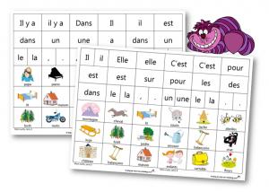 Lecture ecriture mots outils 2