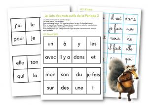 Loto mots outils P2