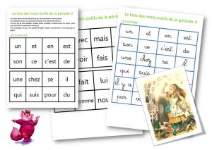Loto mots outils P3