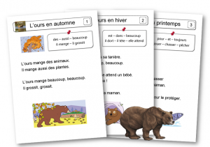 L'ours texte A4