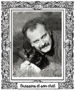 Brassens et son chat