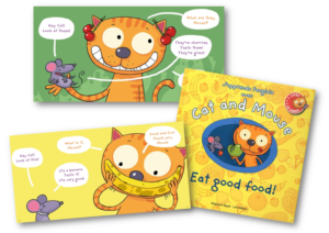 Cat and Mouse Eat good food