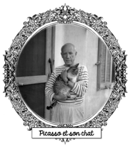Picasso et son chat