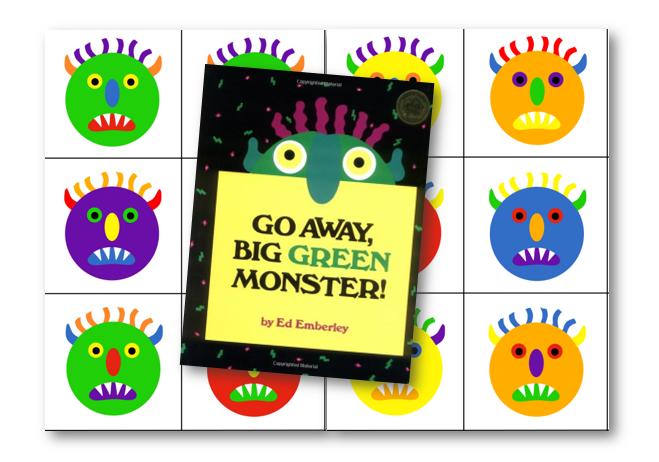 Go away, big green monster !