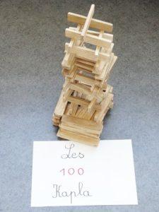 100 kaplas