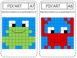 Pixel-art crevette