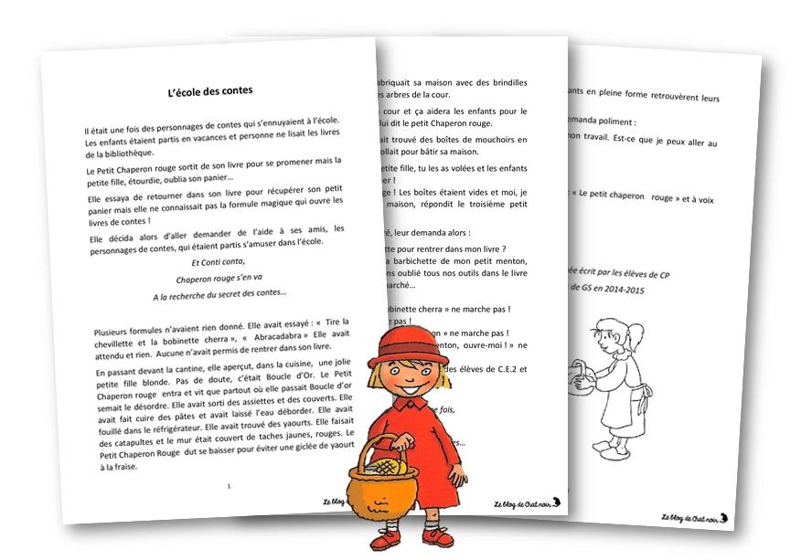 Top Ecrire un conte de randonnée – Le blog de Chat noir DU67