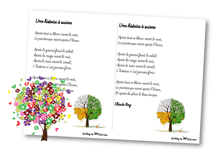 Poèmes Sur La Nature Le Blog De Chat Noir