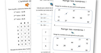 Petits exercices de maths