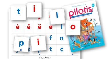 Les lettres mobiles Pilotis 2019