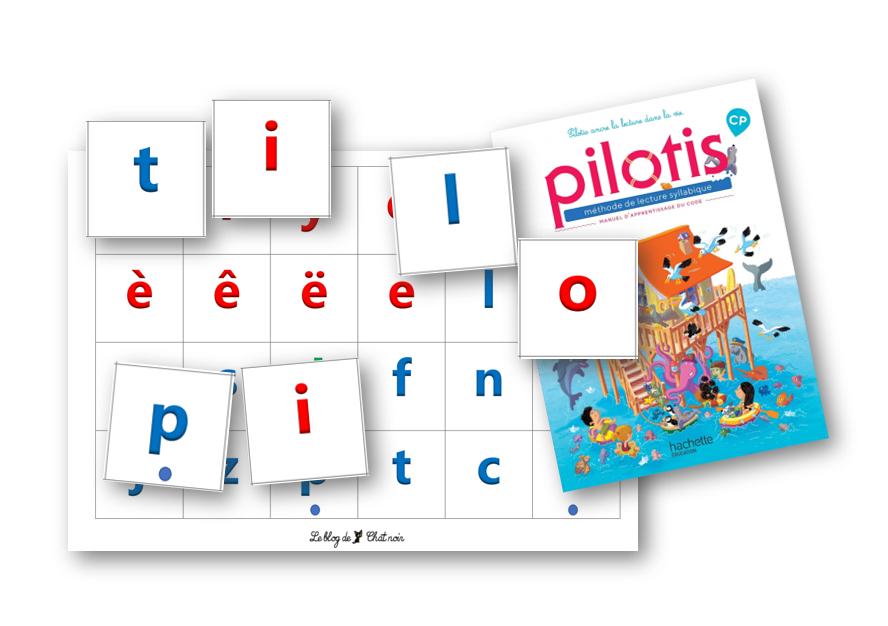 Lettres mobiles Pilotis 2019