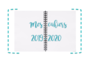 Mes cahiers 2019-2020
