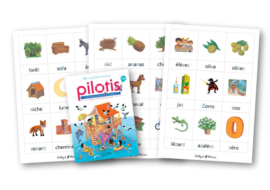Boîtes à mots Pilotis 2019 : palier 1
