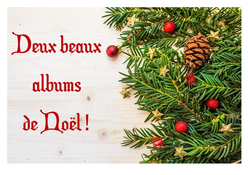 Deux beaux albums de Noël !