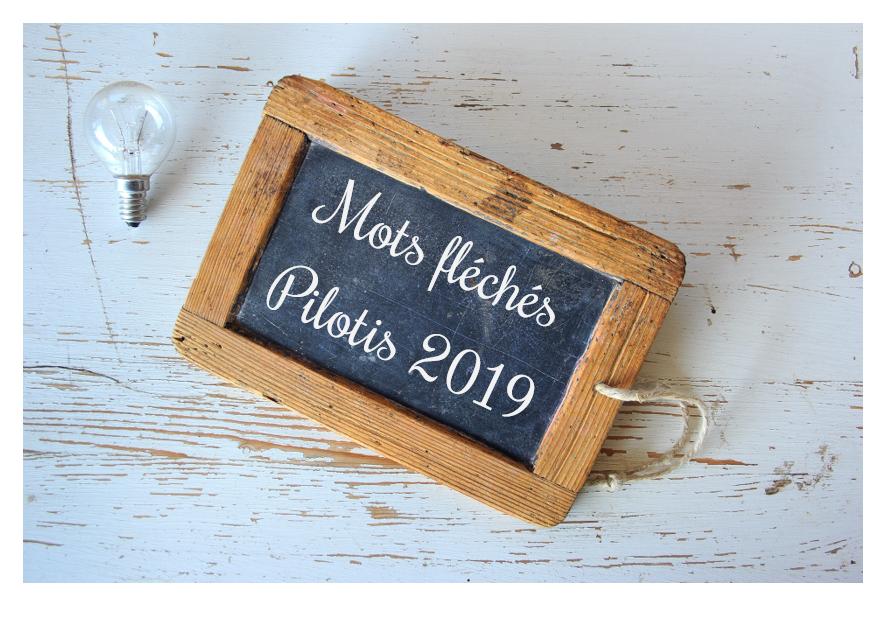 Mots fléchés Pilotis 2019 : palier 4