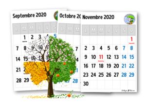 Calendrier Décriture Ce1 2021 2022 Calendriers 2020 2021 – Le blog de Chat noir