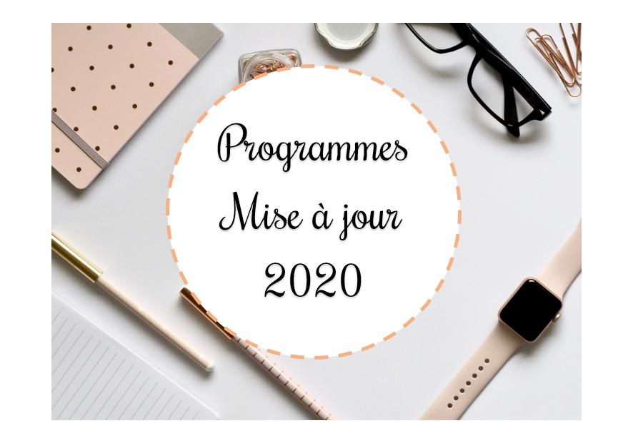 Programmes du cycle 2 : mise à jour 2020