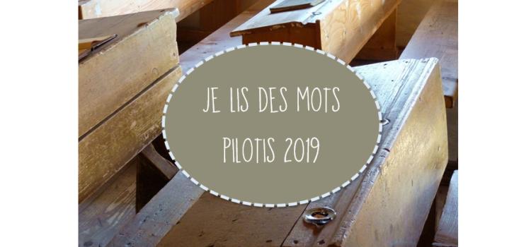 Je lis des mots Pilotis 2019 : palier 3