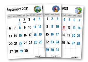Calendrier 2022 Ce1 Calendriers 2021 2022 – Le blog de Chat noir