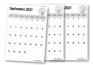 Calendrier 2022 Cp Calendriers 2021 2022 – Le blog de Chat noir